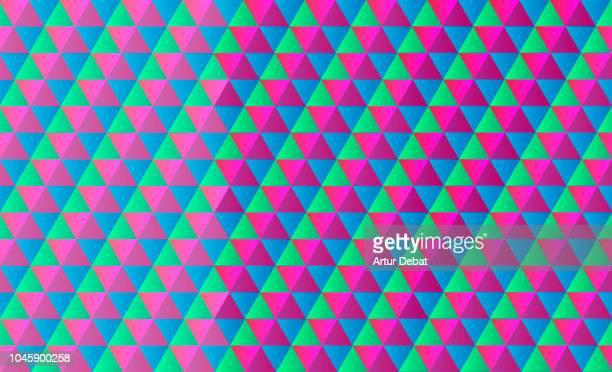 Colorful geometric texture.