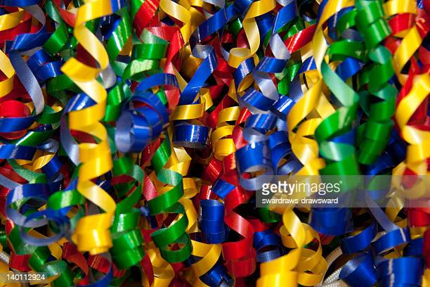 Colorful gift ribbons