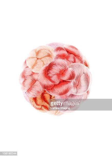 colorful hair/yarn