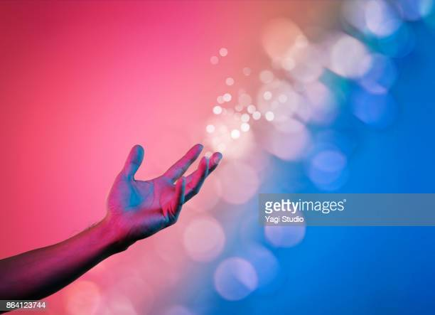 colorful hands - luminosity stock pictures, royalty-free photos & images