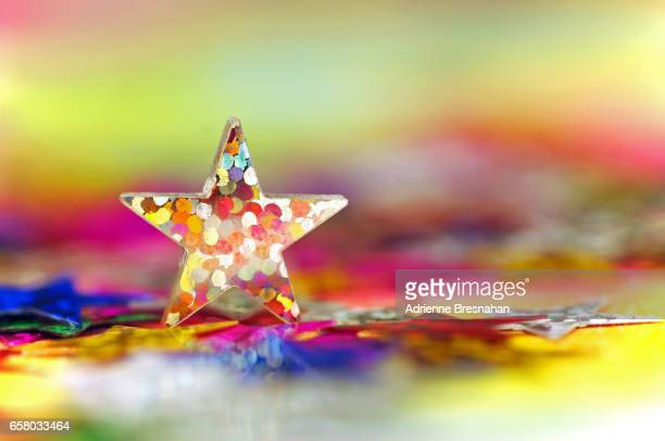 Colorful Holographic Star