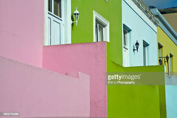 CONTENT] Colorful homes in the BoKaap Cape Malay quarter in Cape TownSouth Africa