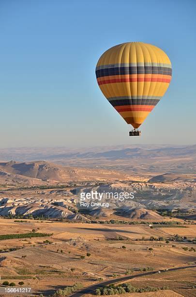 Colorful Hot Air Balloon Flight