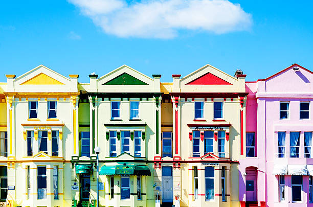 Colorful Hotels In Paignton Devon England Uk