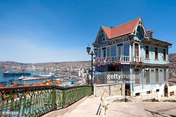 Colorful house in Valparaiso