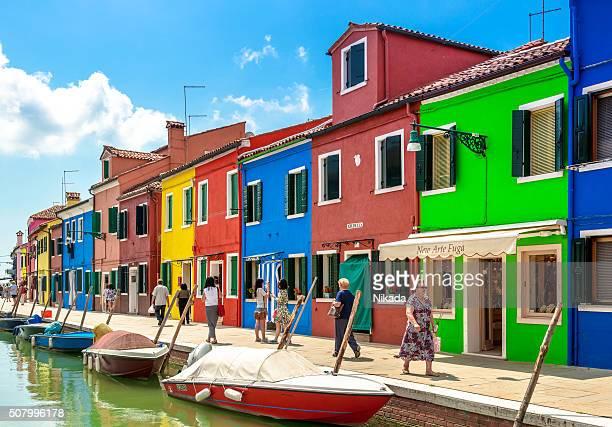 Case colorate, Isola di Burano, Venezia
