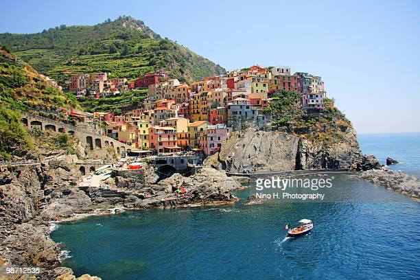 Colorful houses of Manarola - Cinque Terre