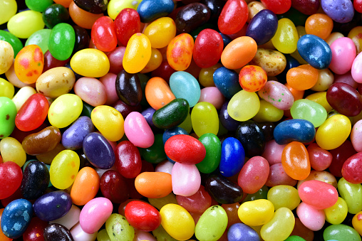 Colorful Jelly Beans - gettyimageskorea