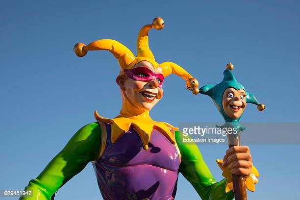 Colorful Jester which dates to Medieval times