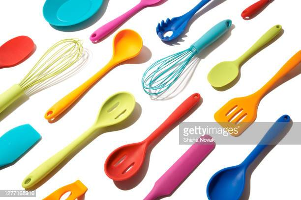 "colorful  kitchen tools - ""shana novak"" stock pictures, royalty-free photos & images"