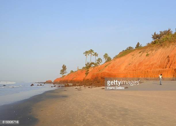 colorful landscape on the atlantic coast, the gambia - gambia fotografías e imágenes de stock