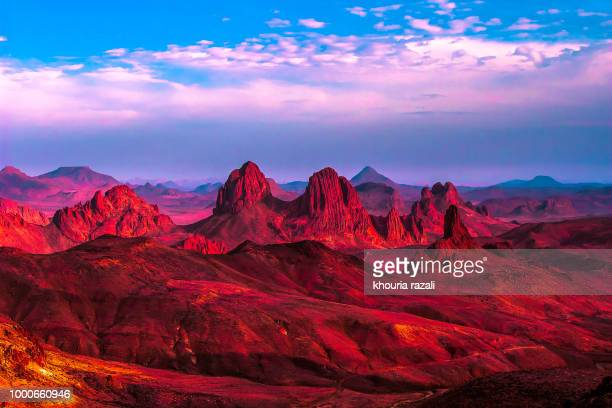 colorful landscape - algeria stock pictures, royalty-free photos & images