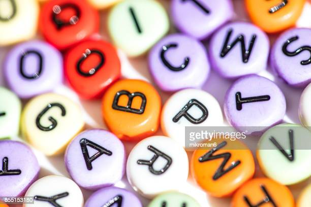colorful letters of the alphabet. the british alphabet letters - letra j - fotografias e filmes do acervo