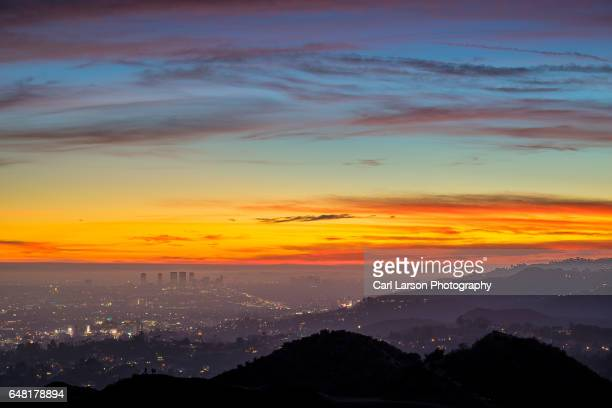 Colorful Los Angeles Sunset