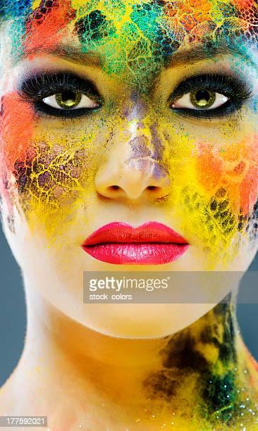 Bunten Make-up