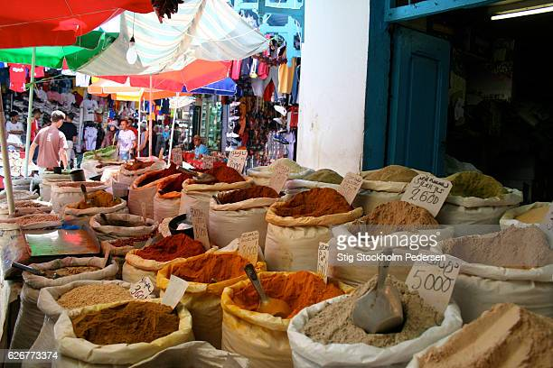 Colorful Market Tunis