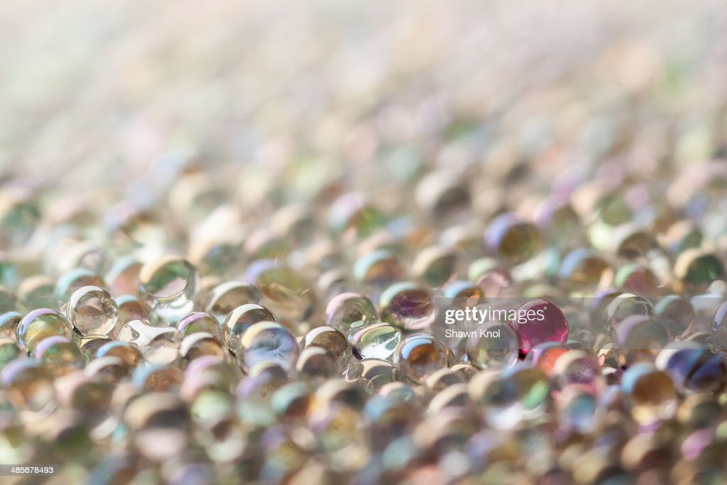 Colorful Microbeads : Stock Photo