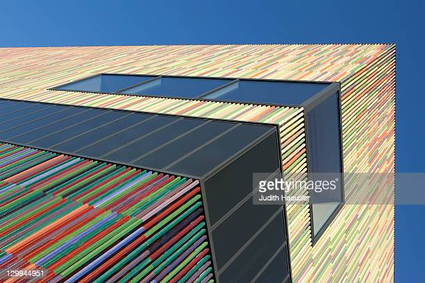 Colorful modern building