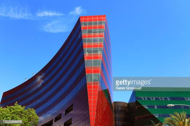 colorful modern buildings - rainer grosskopf stock pictures, royalty-free photos & images