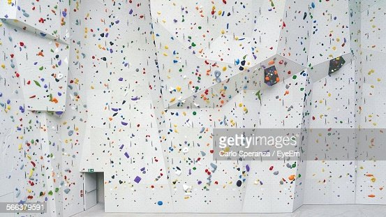 Colorful Of Climbing Wall