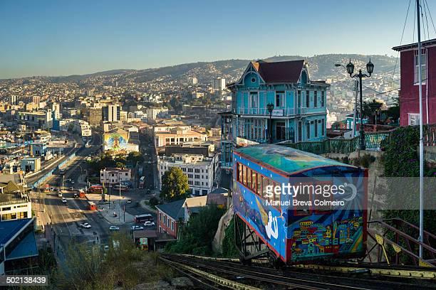 Colorful or funicular lift to Cerro Alegre