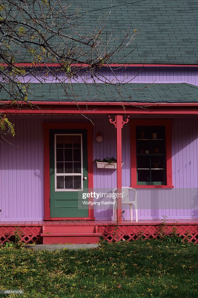 A Colorful Painted House In The Countryside Near Montebello In The News Photo Getty Images