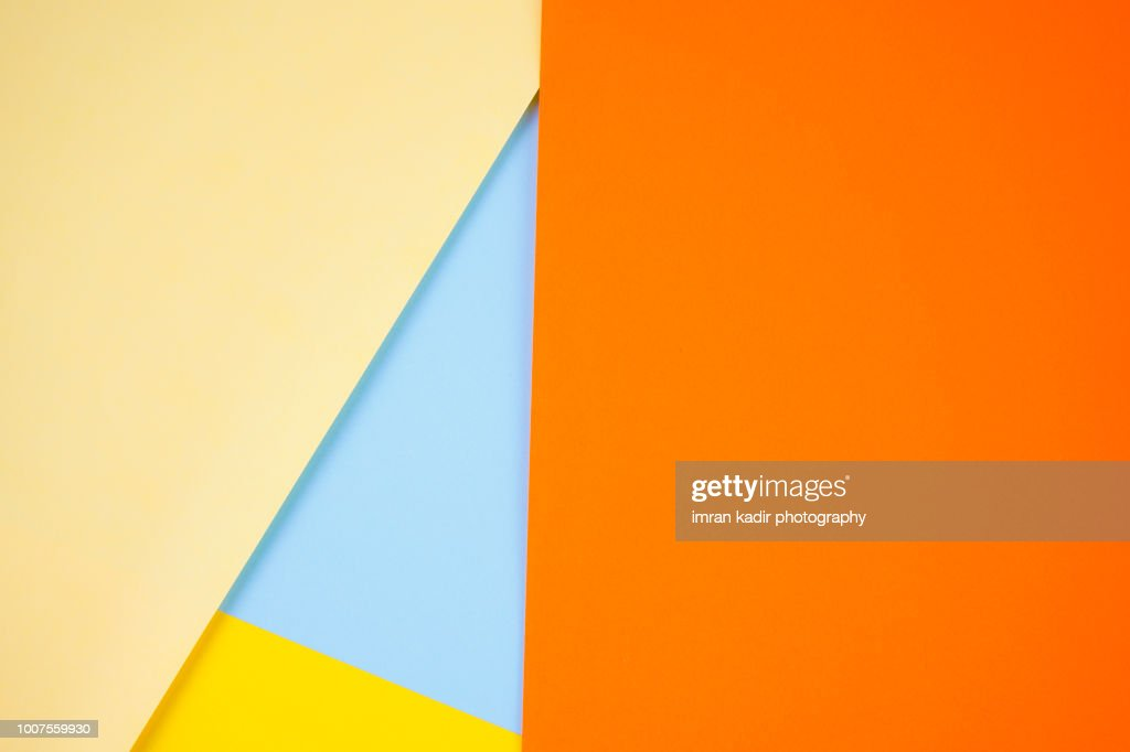 Colorful paper for background and texture : Stock Photo