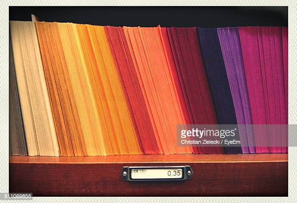 colorful paper - arranging stock pictures, royalty-free photos & images