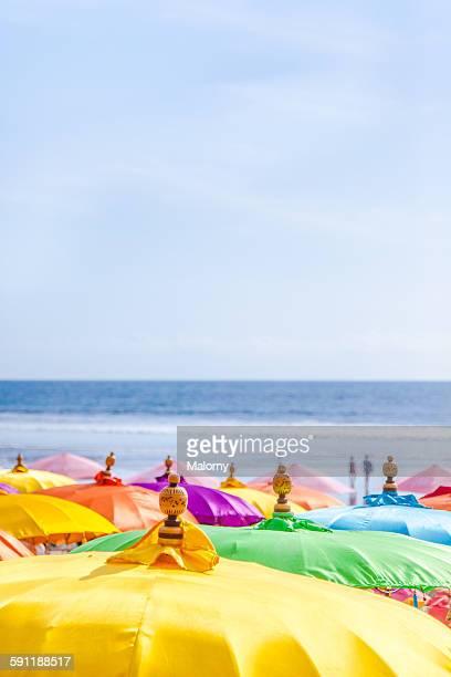Colorful Parasol / Umbrella, Beach Bar, Kuta, Bali
