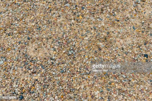 Colorful pebbles, gravel, texture, full-frame
