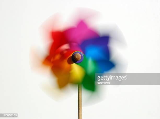 Colorful pinwheel (windmill)