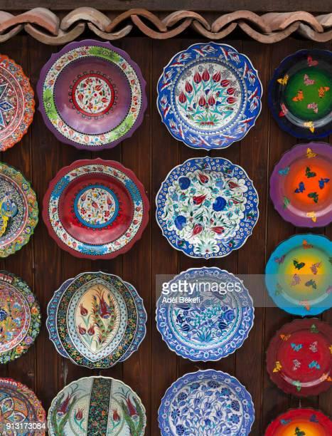 colorful plates (Nesebar)