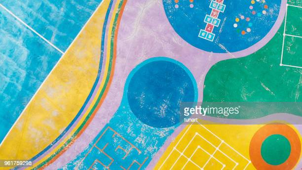 colorful playground - illustration stock pictures, royalty-free photos & images
