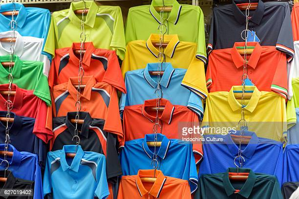 colorful polo shirts for sale - ポロシャツ ストックフォトと画像