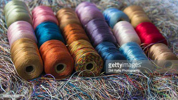 Colorful polyester Yarn