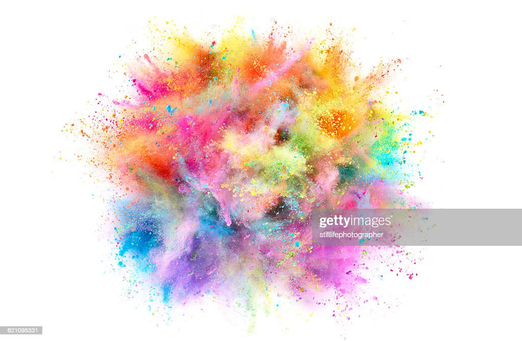Colorful Powder Explosion : Stock-Foto