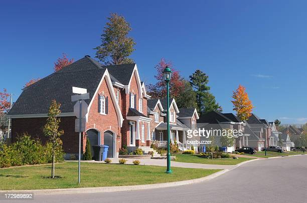 Colorful Residential Neighborhood