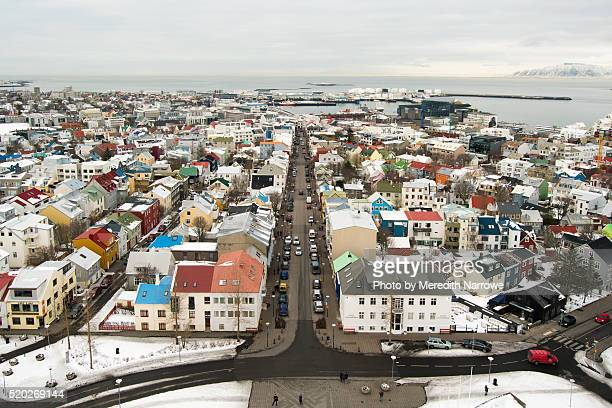 Colorful Rooftops of Reykjavik