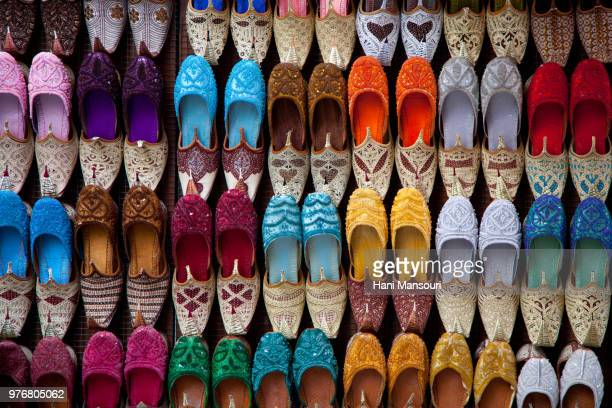 Colorful shoes, Dubai