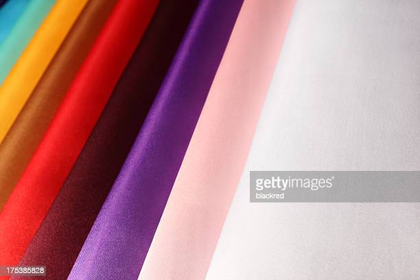 Colorful Silk Rolls