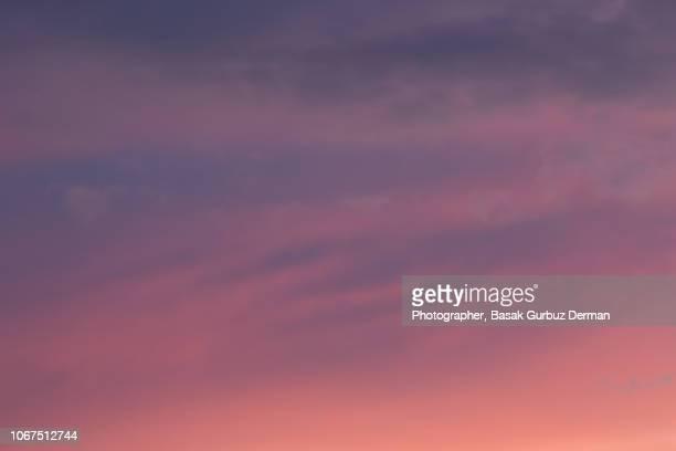 colorful sky - basak gurbuz derman stock photos and pictures