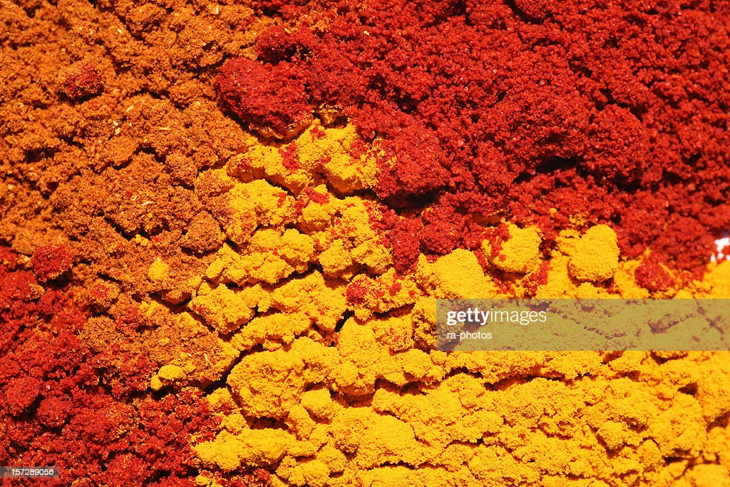 Colorful spices : Stock Photo