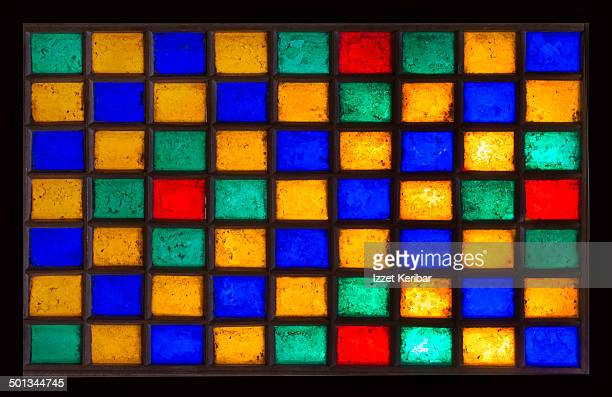 Colorful Stained Glass Windows Devletabad Gardens