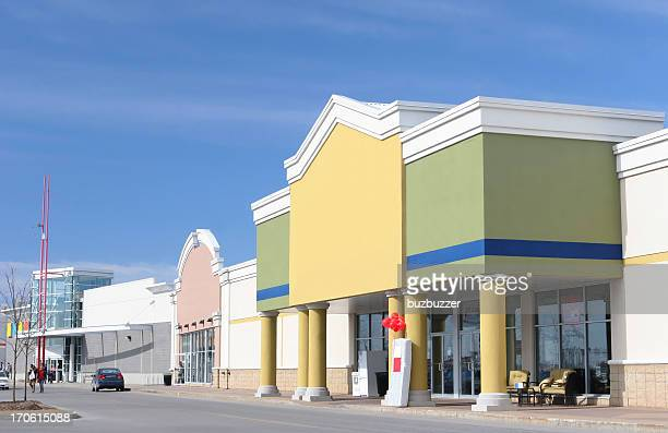 Colorful Store Entrance
