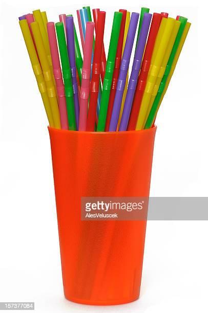 Colorful straws