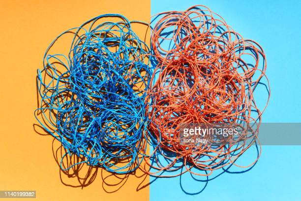colorful strings - intricacy stock pictures, royalty-free photos & images