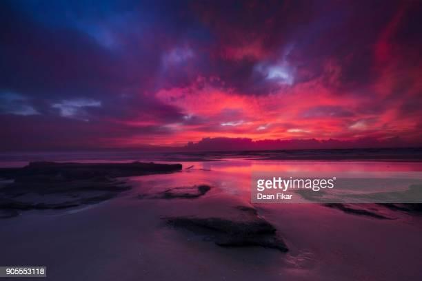 Colorful Sunrise on Florida's Emerald Coast