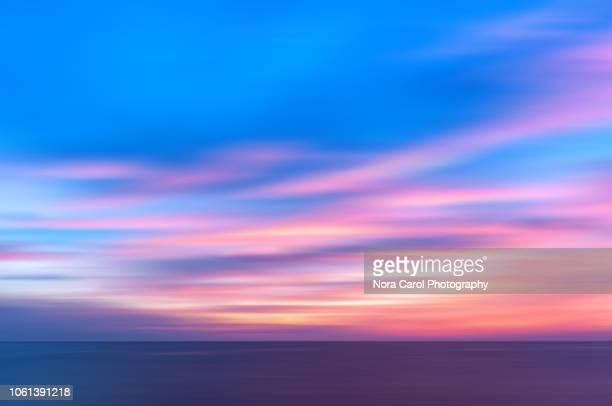 colorful sunset background - dawn stock pictures, royalty-free photos & images