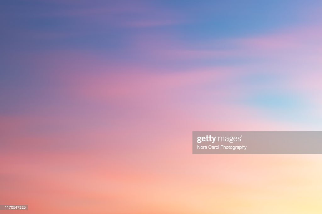 Colorful Sunset Background : Stock Photo