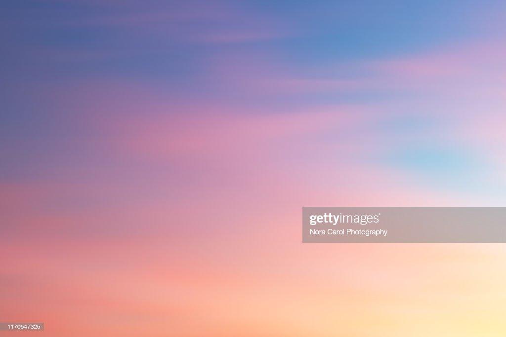 Colorful Sunset Background : Foto de stock